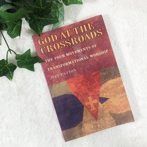 3/$15 God At The Crossroads,  Devotional Book